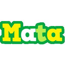 Mata soccer logo