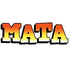 Mata sunset logo