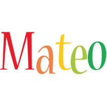 Mateo birthday logo