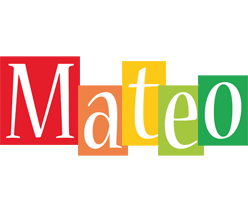 Mateo colors logo