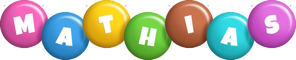 Mathias candy logo