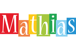 Mathias colors logo