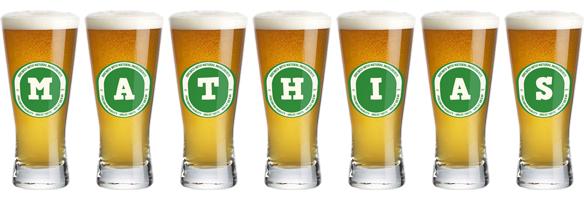 Mathias lager logo