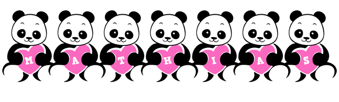 Mathias love-panda logo
