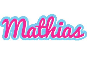 Mathias popstar logo