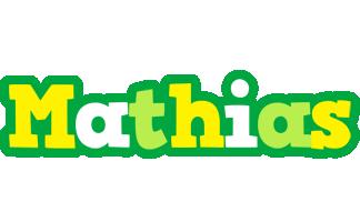 Mathias soccer logo