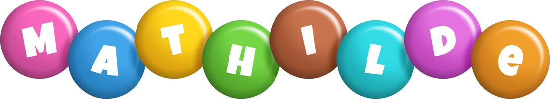 Mathilde candy logo