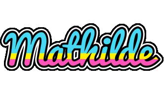Mathilde circus logo