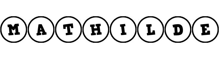 Mathilde handy logo