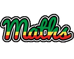 Maths african logo