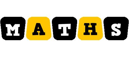 Maths boots logo
