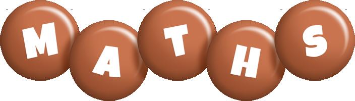 Maths candy-brown logo