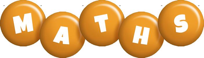 Maths candy-orange logo