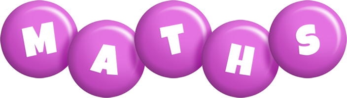 Maths candy-purple logo