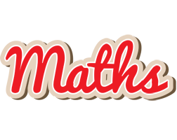 Maths chocolate logo