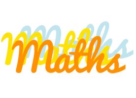 Maths energy logo