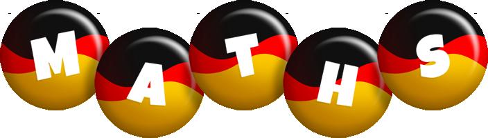 Maths german logo