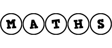 Maths handy logo