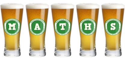 Maths lager logo