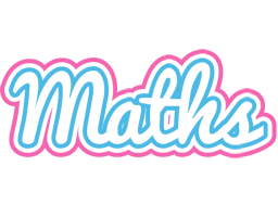 Maths outdoors logo