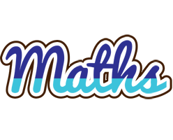 Maths raining logo