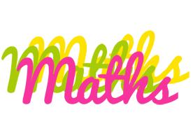 Maths sweets logo
