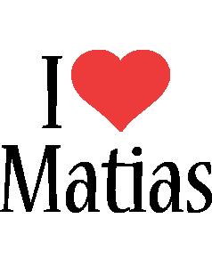 Matias i-love logo