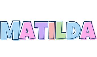 Matilda Logo | Name Logo Generator - Candy, Pastel, Lager ...