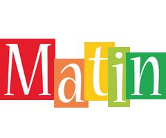 Matin colors logo