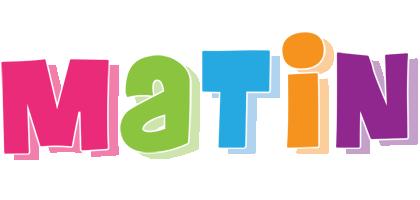 Matin friday logo