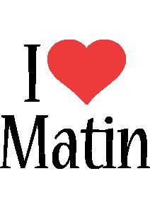 Matin i-love logo