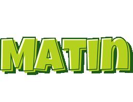 Matin summer logo