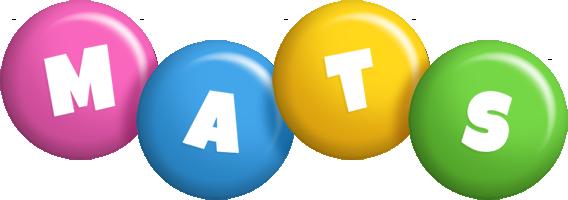 Mats candy logo