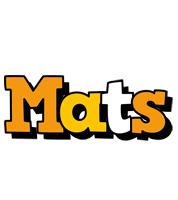 Mats cartoon logo