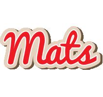 Mats chocolate logo