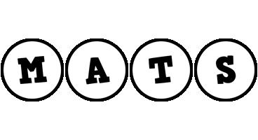 Mats handy logo