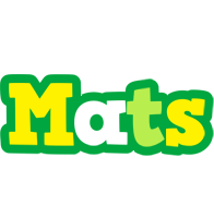 Mats soccer logo