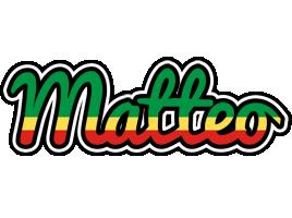 Matteo african logo