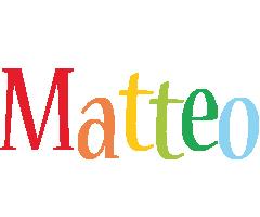 Matteo birthday logo