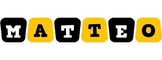Matteo boots logo
