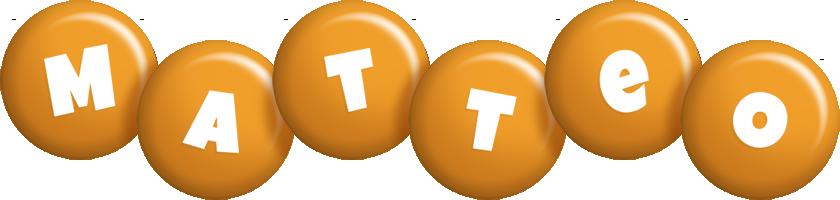 Matteo candy-orange logo