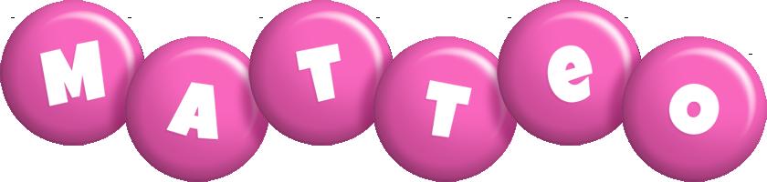 Matteo candy-pink logo