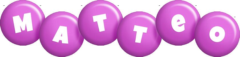 Matteo candy-purple logo