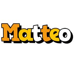 Matteo cartoon logo