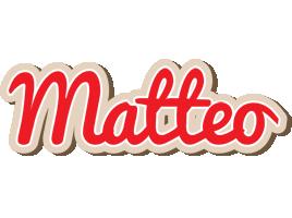 Matteo chocolate logo