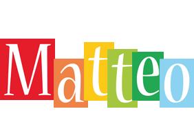 Matteo colors logo