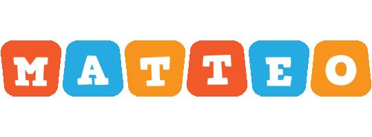 Matteo comics logo