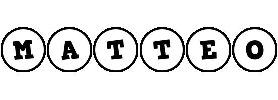 Matteo handy logo