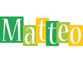 Matteo lemonade logo