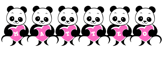 Matteo love-panda logo